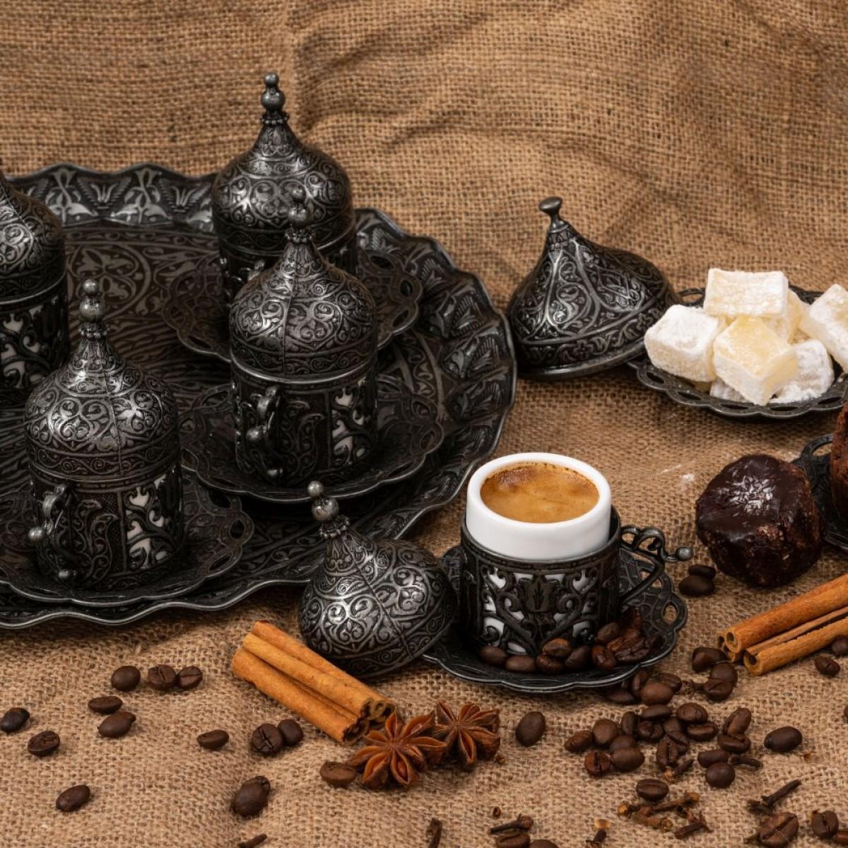Голям комплект за кафе