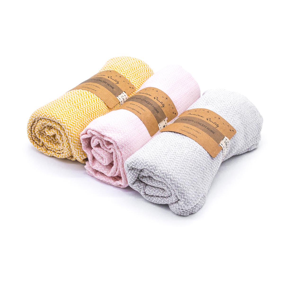 Бебешко одеяло Cottonseed 100% памук